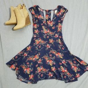 ASO Teen Wolf Floral Abercrombie Dress
